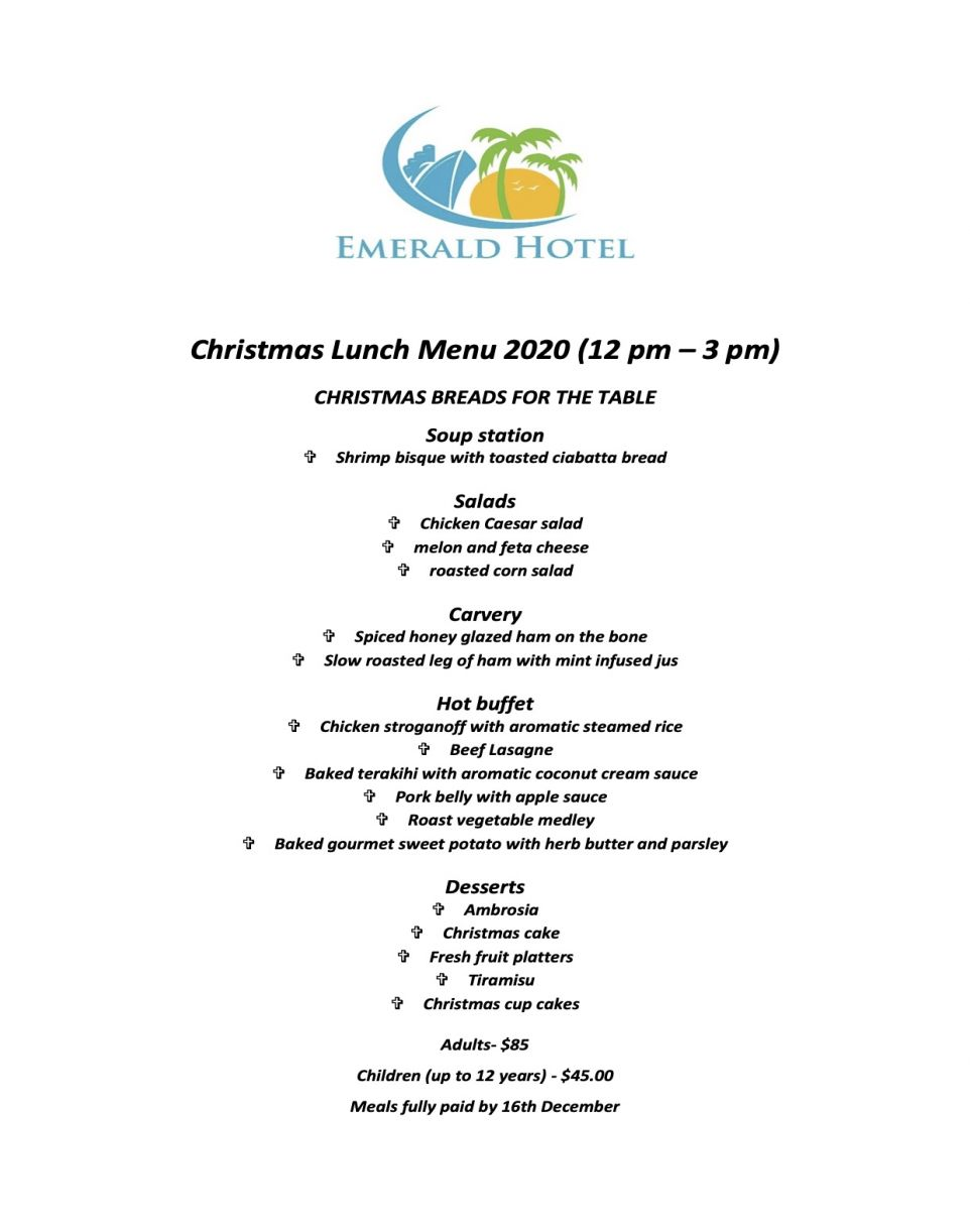 chirstmas lunch menu 2020 3